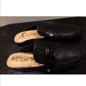Black Sam Edelman Loafers flats Mules Slip ons 5